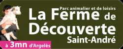 La Ferme de Découverte Saint-André, partenaire du parc, à voir à faire au parc de loisirs Fantassia, département 66